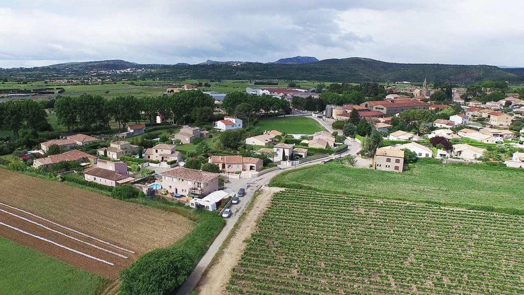 Immobilier : photo aérienne par drone